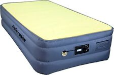 """TWIN SIZE AIR BED INFLATABLE MATTRESS WITH BUILT-IN PUMP WITH 1""""MEMORY FOAM PACK"""