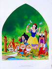 Disney•SNOW WHITE & The Seven Dwarfs 1937•Vintage Art Movie Poster 19x25