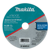 Makita 724111-A-25 4-Inch Cut Off Wheel, 25-Pack