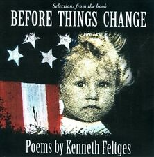 SELECTIONS FROM THE BOOK BEFORE THINGS CHANGE: POEMS BY - USED - LIKE NEW CD