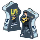 Elvis Presley Silhouette Shaped/Embossed Tin Tote