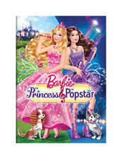BARBIE PRINCESS AND THE POPSTAR  (DVD, 2012) NEW