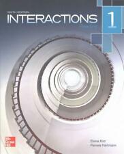 NEW Interactions 1 Reading 6th Edition with Online Access Code for Connect Plus