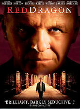 Red Dragon (DVD, 2003, Full Frame Collector's Edition) Brand New! Fast Shipping!
