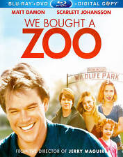 We Bought A Zoo Matt Damon  Bluray Only Brand New Factory Sealed
