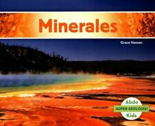 NEW Minerales by Grace Hansen Paperback Book (Spanish) Free Shipping