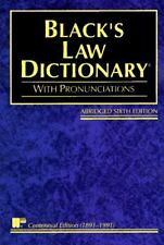 Black's Law Dictionary : Definitions of the Terms and Phrases of American and...