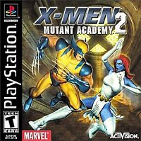 X-MEN MUTANT ACADEMY 2 - SONY PLAYSTATION 1 / PS1 =========