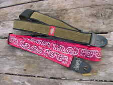 Two Guitar Straps, LEVY'S   DICKIES