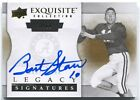 2012 Exquisite Collection Bart Starr Legacy Signatures Auto #/60