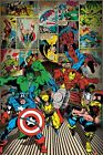 Poster MARVEL COMICS - Here Come The Heroes - Hulk, Thor ...ca60x90cm NEU 57578