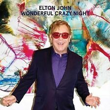 Wonderful Crazy Night - Elton John New & Sealed Compact Disc Free Shipping