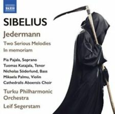 SIBELIUS: JEDERMANN; TWO SERIOUS MELODIES; IN MEMORIAM - USED - LIKE NEW CD