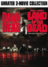 DAWN OF THE DEAD/LAND OF THE DEAD (DVD, 2007, 2-Disc Set) WITH SLEEVE