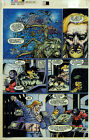 DREADSTAR page 14 Malibu Color Acetate Separation Comic Art page          {22}