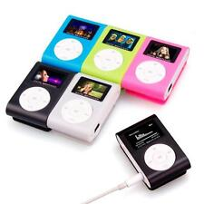 Mini Portable USB Clip MP3 Player LCD Screen Support 32GB Micro SD TF Card