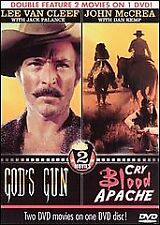 2003 DVD, DOUBLE FEATURE-TWO WESTERN MOVIES/ GOD'S GUN & CRY BLOOD APACHE