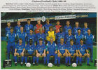 CHELSEA FOOTBALL TEAM PHOTO 1989-90 SEASON