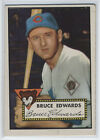 1952 Topps #224 Bruce Edwards - Cubs vgex