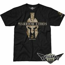 7.62 DESIGNS USMC WARRIOR ETHOS T SHIRT FOR SPARTAN LEGENDARY FIGHTER US MARINE