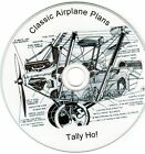 20 Experimental airplane, glider, Homebuilt and ultralight plans & books on CD