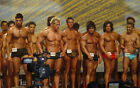 Shirtless Beefcake Muscle Bodybuilder Group Contest PHOTO 4X6 Pinup Pic P211