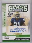 2006 Topps DPP Class Marks Maurice Stovall RC Auto.