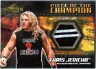 WWE Chris Jericho 2 Color 2001 Fleer Championship Clash Event Worn Shirt Card