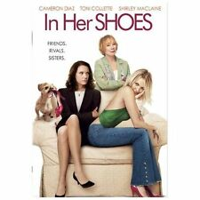 IN HER SHOES The MOVIE on a DVD with CAMERON DIAZ & Shirley Maclaine FULL SCREEN