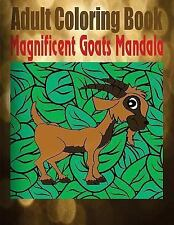 Adult Coloring Book Magnificent Goats Mandala by Toni Rose and Coloring Fun...