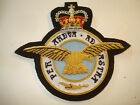 ROYAL AIR FORCE Blazer badge hand embroidery