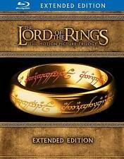 The Lord of the Rings Extended Edition Trilogy Blu-ray Disc, 2012, 15-Disc