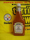 PITTSBURGH STEELERS 2005 SUPER BOWL CHAMPIONS 24 OZ HEINZ KETCHUP BOTTLE