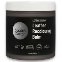 DARK GREY Leather Dye Colour Restorer for Faded and Worn Leather Sofa etc.