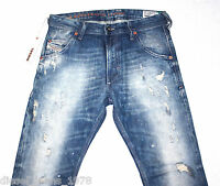 BNWT DIESEL KROOLEY 886P JEANS 29X30 AUTHENTIC CARROT FIT TAPERED LEG 0886P