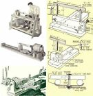 TWO WOOD LATHES YOU CAN BUILD - PLANS ON CD - DIY - K2NE WEB STORE