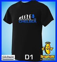CHELSEA  evolution  sports football funny MENS T SHIRT small to 5XL D1