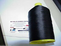 1500 MTRS OF BROWN 20's BONDED LEATHER  THREAD