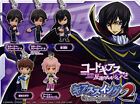 Bandai Gashapon Code Geass Lelouch of the Rebellion Part 2 , 5 pcs Figures