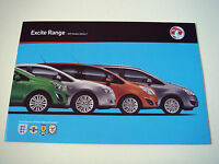 Vauxhall . Excite Range . 2011 Models  Edition 1 . Sales Brochure