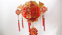 CHINESE RED DRAGON PAPER PALACE LANTERN WEDDING BIRTHDAY RESTAURANT PARTY a2