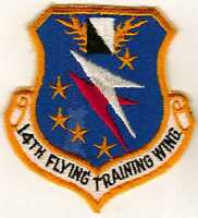 US Air Force 14 Flight Training Wing Patch circa 1960s