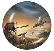 Evening Surprise Plate by Terry Redlin