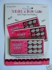 HEN NIGHT PARTY - 'Scratch a Dare Game'(12 Cards/GM/HN)