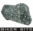Oxford (M) Aquatex Camo Motorbike Cover/Waterproof/Bike