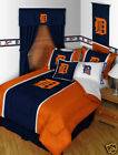 Detroit Tigers MLB Twin Comforter & Sheet Set (4 Piece Bed In A Bag) NEW!