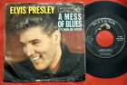 """ELVIS PRESLEY IT'S NOW OR NEVER RARE USA 7"""" PS"""