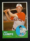 1963 Topps #256 Jerry Lumpe Athletics