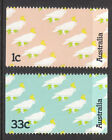 1985 Sulphur Crested Cockatoo - MUH Booklet Stamps