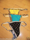 NWT VICTORIA'S SECRET LOT OF 3 V STRING THONG XSM NEW